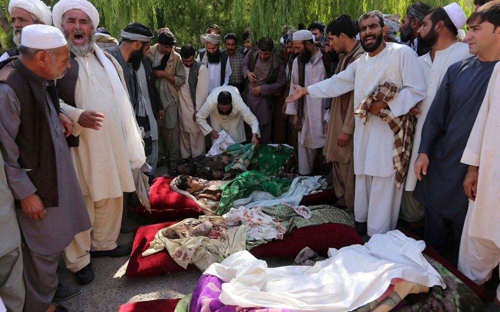 Afghanistan civilian deaths