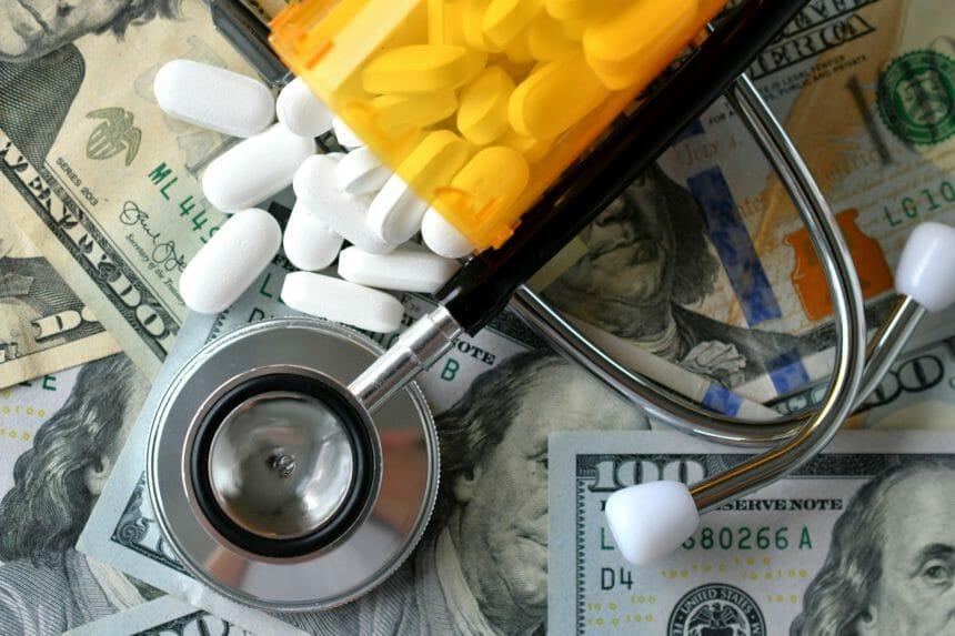 US pharma and money