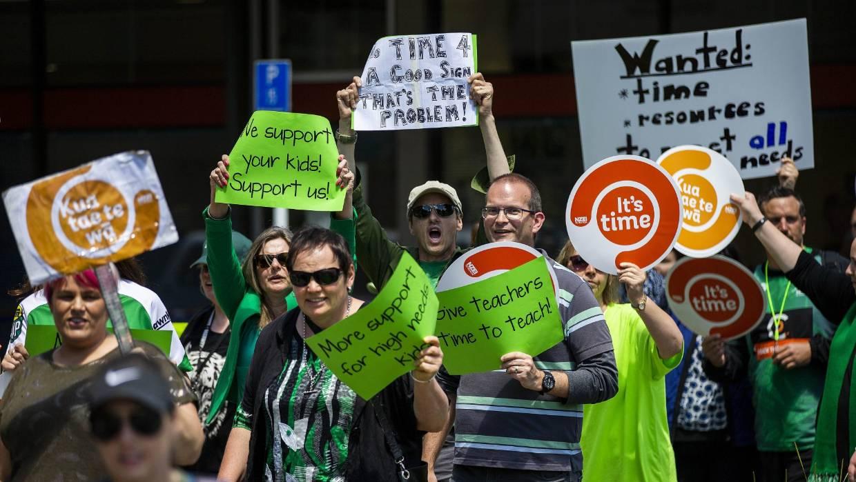New Zealand teachers' strike