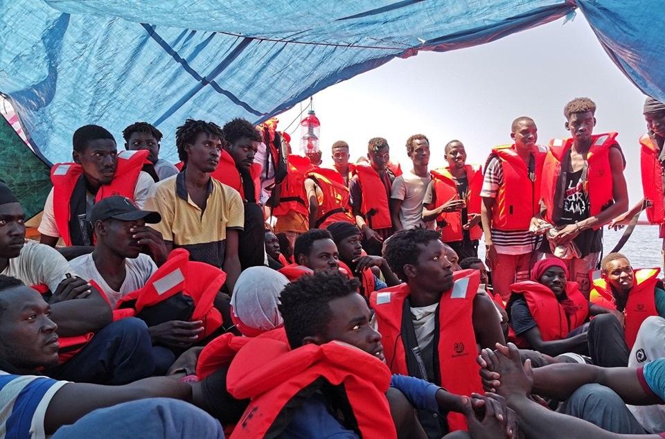 Migrants Ship Italy