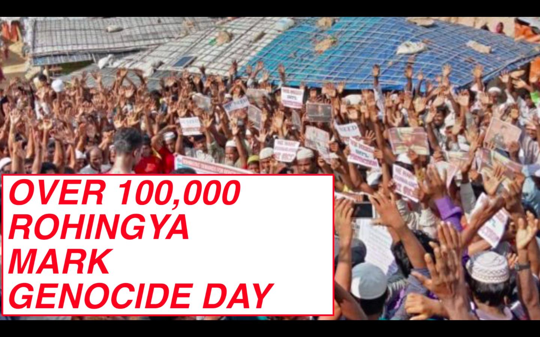 genocide day rohingya