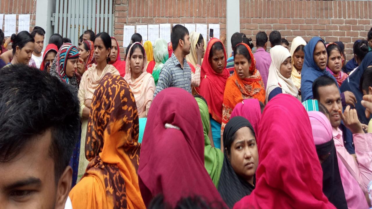 Bangladesh garment workers